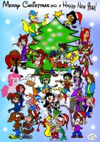 Christmas Group Art - 2012 by Jamesf5