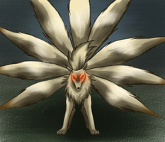 Ninetales by LordSecond