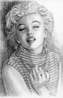 Marilyn Monroe by reighrome