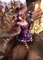 Caitlyn of Piltover by ElinTan