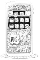 sketch_inside iphone by truongxuanbach