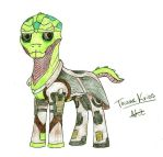 Ponified Thane by generalmokka