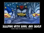 sleeping with sonic and silver by Shadic64