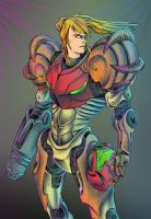 Samus Aran by JeffyP