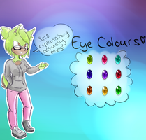 Eye Colors w/ Ambuhr the MintyCabbit by Ootsutsuki