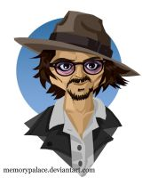 Johnny Depp by memorypalace