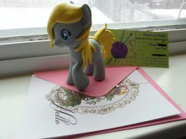 She finally came in the mail! by SerendipityDucky
