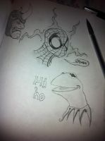 Frogs, Spiders, And Russian Rhinos by ComicBookGoth