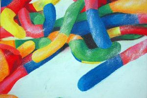Gummy Worms by batmangirl2005