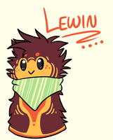 Lewin the Scarfblob by Kasaica