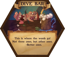 Pirate Board Game: Dive Bar by GhostHause