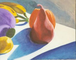 Still life with pear by laurichg