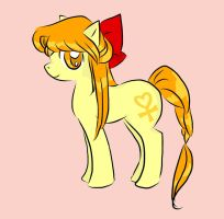 Venus Pony with Bow! by ComicSneakers