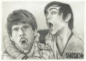 SMOSH drawing - Friendship always wins! by Tokiiolicious