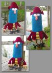 Captain K'nuckles Plush by Nosseren