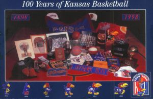 100 Years of Kansas Basketball by Paluso4art