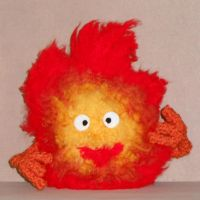 Calcifer Plush by Craftigurumi