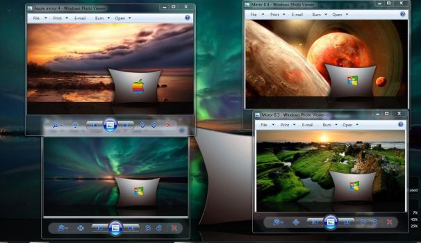 Mirror 8 Wallpaper Pack by wallybescotty