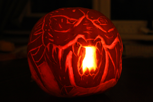 Predator Pumpkin by countevil