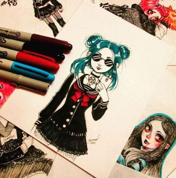 Sketches Marker by TonSang