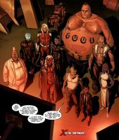 The New Brotherhood of Evil Mutants by ANSEM3