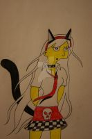 Skylar Simpson Neko Girl by PunkGothiePrincess17