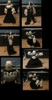 bionicle :1st of the sisters of order -banchera by CASETHEFACE