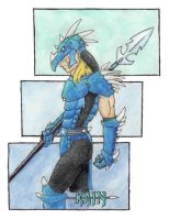 Kain in color by neen