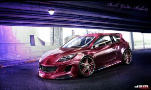 WTB'11 Mazda 3 MPS by roobi