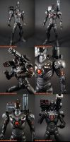 Custom Night Armor Iron Man 1 by KyleRobinsonCustoms