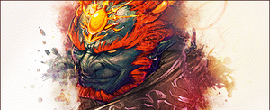 Ganonorf_Banner by wagnchong