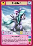 Flitter - MLPMinis profile card by MLPMinis