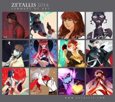 Summary of Art 2014 by zetallis