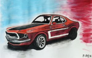 Ford Mustang 1969 by FirenSVK