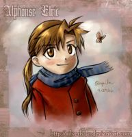 Fall Day - Alphonse Elric by wendichen