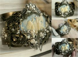 Mermaid Cuff by JuleeMClark
