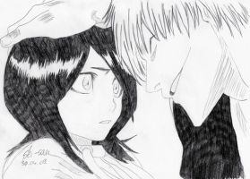 Bleach: Rukia and Ichimaru by 19Skejciara10