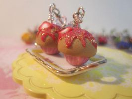 Extra Strawberry Earrings by CandyChick