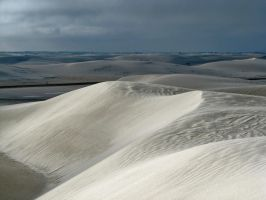 WHITE SANDS WANDERING DUNES by CorazondeDios