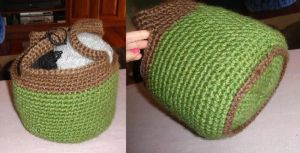 Crochet Bag by lillythepink57