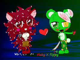 Flaky x flippy by LOVEHTF421