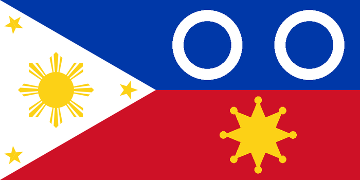 Flag of the Federal Republic of the Philippines by revinchristianhatol