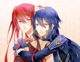 FE13: Lucina x Severa by IMAKINATION
