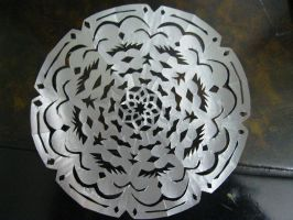 Silver Papercutting by TheMilkyWayGalaxy