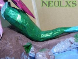 Ariel Mermaid Papercraft 6 by Neolxs