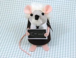 Albert Einstein Mouse by The-House-of-Mouse