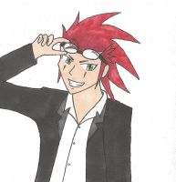 The name's Axel, yo. by TheArcticFlame