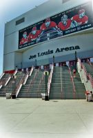 Joe Louis Arena Stairs by GrotesqueDarling13