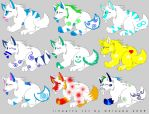 Special Adoptables by liongirl2289