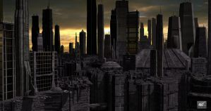 Future City One by maxq3d